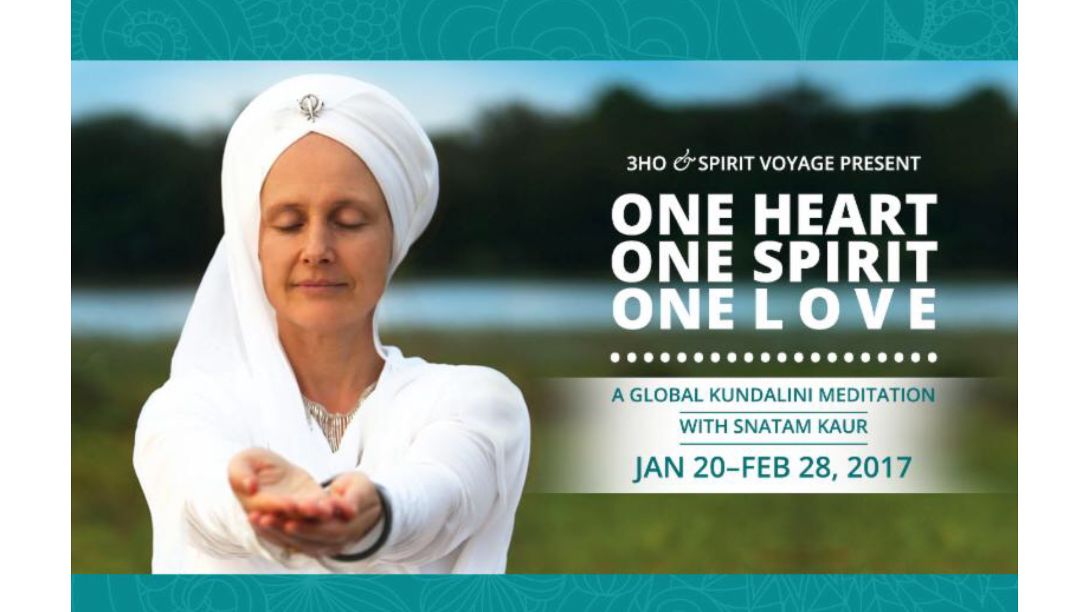 Join Atma in a Global Meditation
